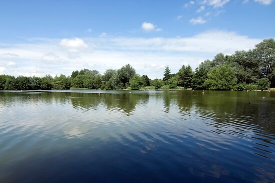 Needham Lake. by Cyrusdvirus