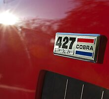 1965 AC Ford Cobra Emblem by Jill Reger