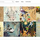 Homepage July 5, 2012 by The RedBubble Homepage