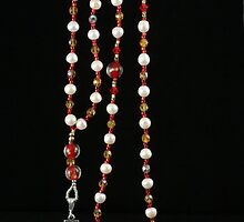Anglican Prayer Bead Set 6 by Terry  Berman