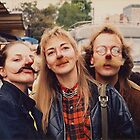 Flea Market Mustaches by Sandy Taylor