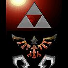 Skyward Sword iPhone/ iPad Shield- Demise&#x27;s Burning theme by Midna
