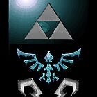 Skyward Sword iPhone Shield- Flooded Eldin theme by Midna