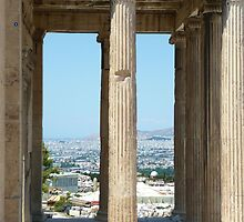 Athens Greece: Land of the Gods by Kim Myleisha Mewing