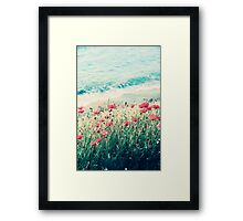 Sea of Poppies Framed Print