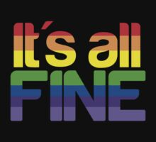 It's all fine by Mikayla McLean