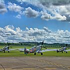 Three Flying Legends ! by Colin J Williams Photography