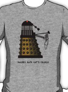 Daleks Hate Cat's Cradle T-Shirt