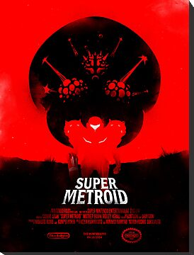Super Metroid by iwilding