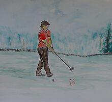 """""""Practice Swing""""  by Carter L. Shepard by echoesofheaven"""
