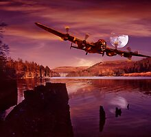 At The Going Down of The Sun by Nigel Hatton, Derwent Digital Imaging