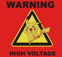 Warning! Pikachu High Voltage! Kids Clothes
