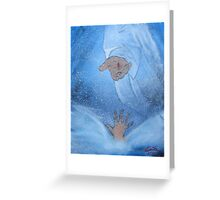 """""""Rejoice""""  by Carter L. Shepard Greeting Card"""