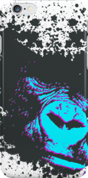 Gorilla Iphone cover by Joshua Roberts