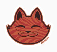 Cheshire Originals - Orange Ripple Sticker by CheshireGoMad