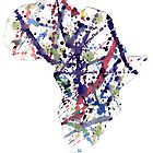 Purple Splatter Africa by The Street Child Project