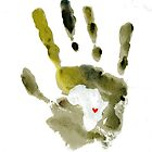 Green Handprint by The Street Child Project
