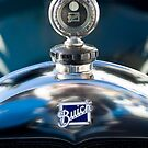 1928 Buick Hood Ornament and Emblem  by Jill Reger