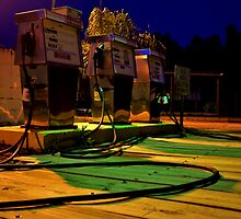 Waiting at the Pump (color) by jasmith162