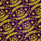 Cheshire Originals - Signature Pattern Print by CheshireGoMad
