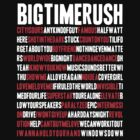 BTR songlist (red&white text) by sstilinski