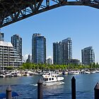 Downtown Vancouver, opposite Granville Island. 2012. by johnrf
