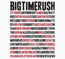 BTR songlist (red&black text) by sstilinski