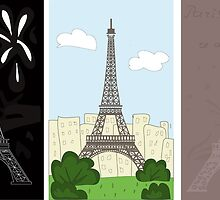 Eiffel tower by Marishkayu