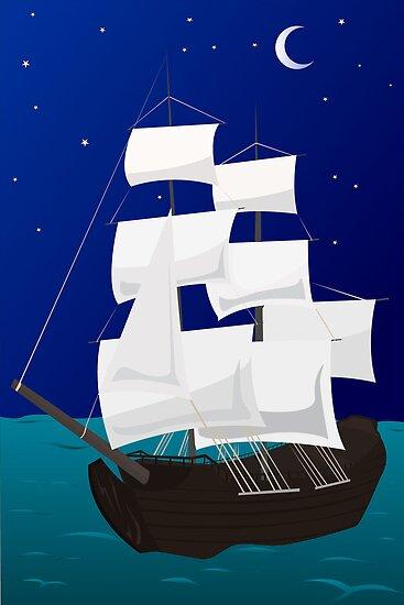 ship by Marishkayu