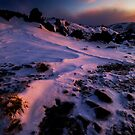 Snowdrift Sunset by Paul Mercer