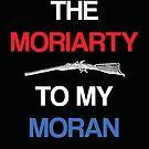 Moriarty to my Moran (Black) by KitsuneDesigns