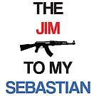 Jim to my Sebastian (White) by KitsuneDesigns
