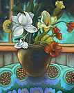 Ginger flowers 2 by maria paterson