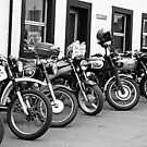 Vintage Motorcycles by Lou Wilson