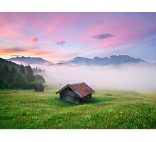 Alpen Glory Photographic Print
