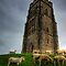 Sheep grazing on Glastonbury Tor by NeilAlderney