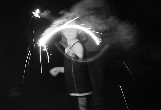 """Sparkler Fun 7""  by Carter L. Shepard by echoesofheaven"