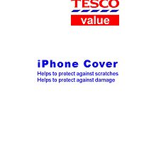 Tesco Value iPhone Case by Ged J