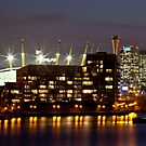 Royal Victoria Dock by Peter Tachauer
