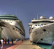 Kuşadası Cruise Terminal by Tom Gomez