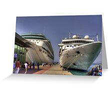 Kuşadası Cruise Terminal Greeting Card
