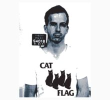 Lee Harvey Cat Flag  by BUB THE ZOMBIE