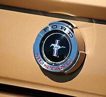 Ford Mustang Emblem by Diego  Re