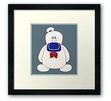 Stay Puft Chibi Framed Print