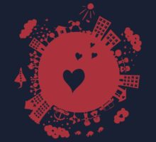 planet in love Kids Clothes