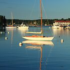 Boothbay Sloop by Roupen  Baker