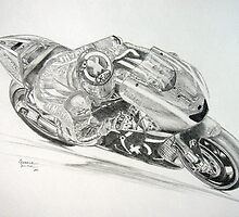 Yamaha - Lorenzo by Gerald Smith