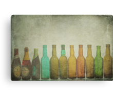 Bottled Memories Canvas Print