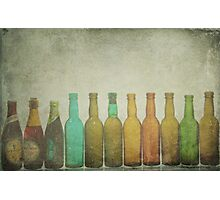 Bottled Memories Photographic Print