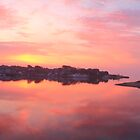 Daybreak on Hyannis Harbor by Roupen  Baker